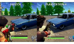 Comparaison Switch PS4 Fortnite image