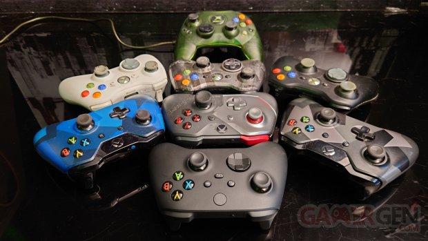 Comparatif manette Xbox Series vs Xbox One 36