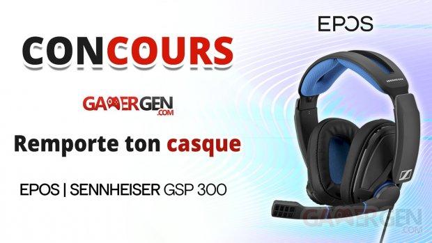 Concours GSP 300 EPOS   SENNHEISER v3