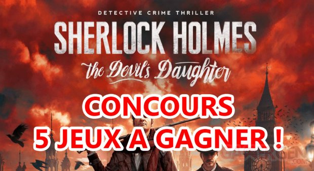 CONCOURS SHERLOCK HOLMES BIGBEN INTERACTIVE