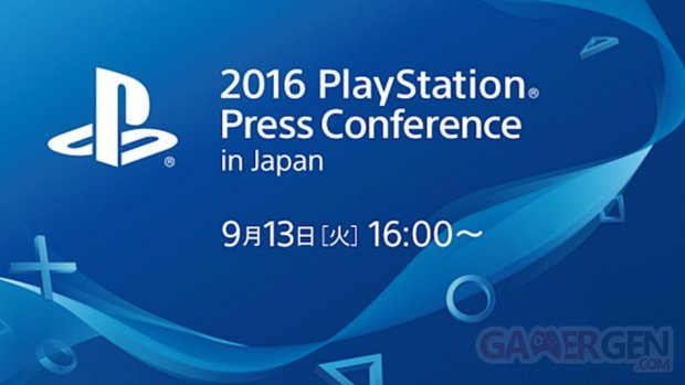 Conference Sony TGS 2016 image