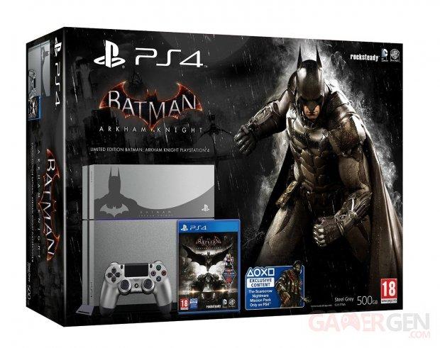 console Ps4 collector batman arkham knight
