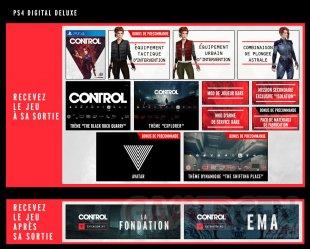 Control bonus Deluxe numérique PS4 26 03 2019