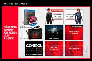 Control bonus Deluxe PS4 26 03 2019