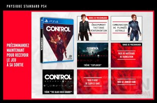 Control bonus PS4 26 03 2019