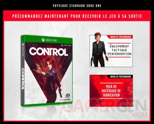 Control bonus Xbox One 26 03 2019