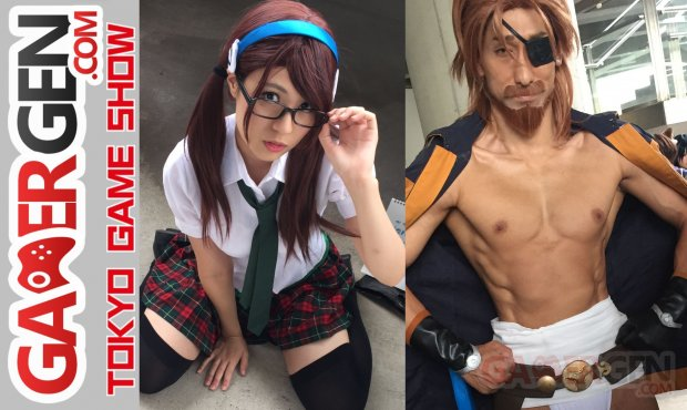 Cosplay Tokyo Game Show TGS 2016 photos images