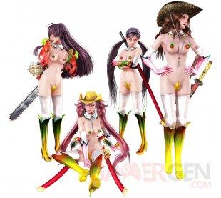 Costume Alternatif Onechanbara Z2 Chaos