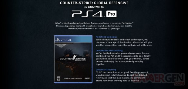 Counter Striker Global Offensive PS4 02 04 2018