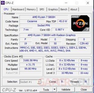 CPU Z CPU