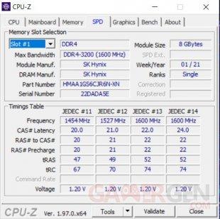 CPU Z ram