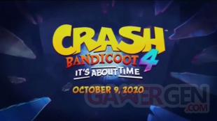 Crash Bandicoot 4 It About Time 20 06 2020 leak date sortie