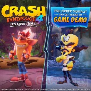 Crash Bandicoot 4 It's About Time demo