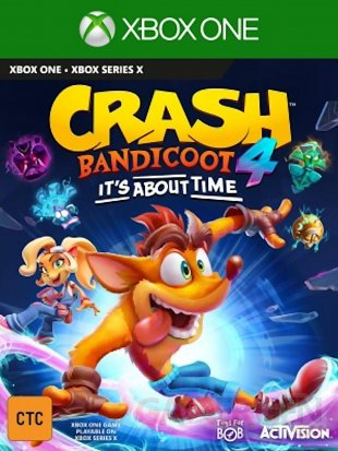 Crash Bandicoot 4 It's About Time images jaquette (3)