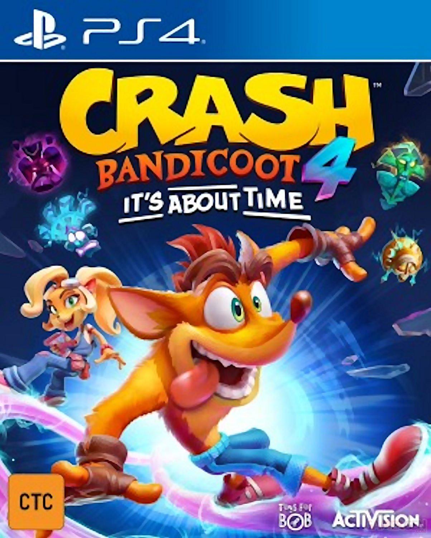 Crash Bandicoot 4 It's About Time images jaquette