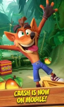 Crash Bandicoot Mobile fuite 1