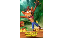 Crash Bandicoot Mobile fuite head