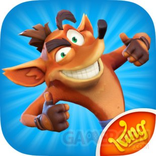 Crash Bandicoot Mobile logo fuite