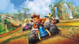 Crash Team Racing Nitro Fueled art old