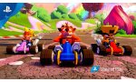 crash team racing nitro fueled contenu retro exclusif ps4 mais crash nitro racing monde