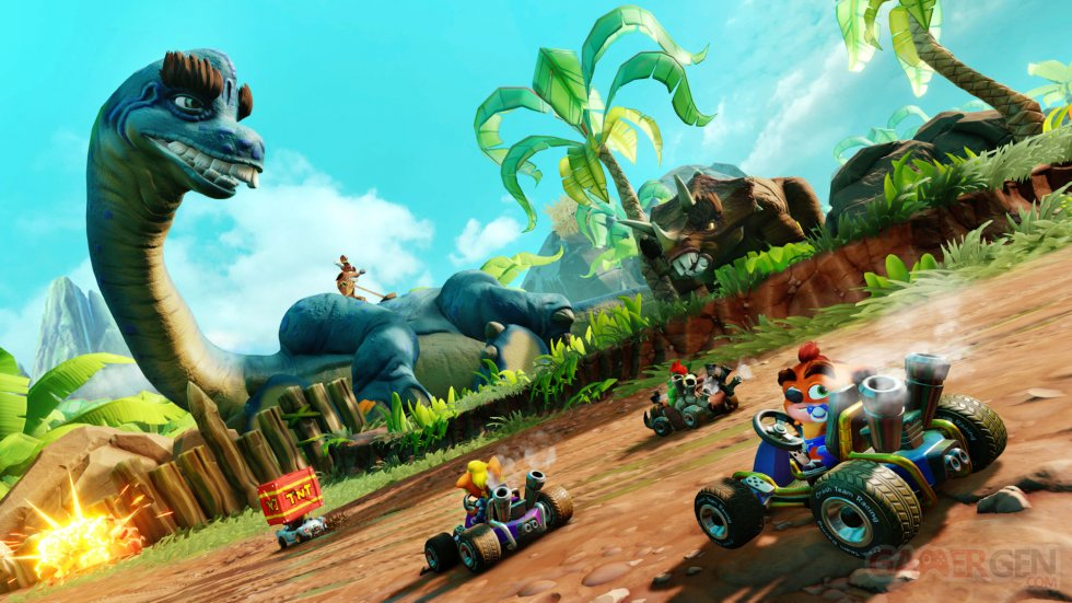 Crash Team Racing Nitro-Fueled  Grand Prix 2 Back N Time (7)