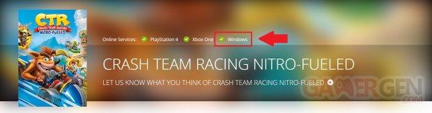 Crash Team Racing Nitro Fueled PC Windows
