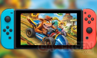 Crash Team Racing Nitro Fueled test images Switch