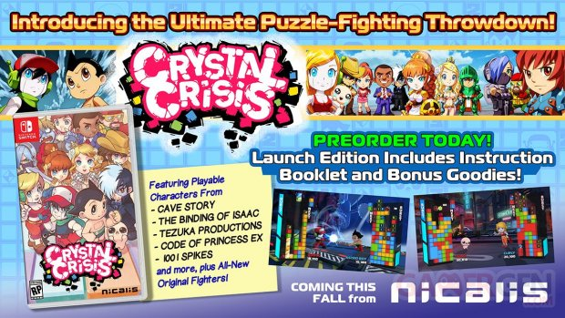 Crystal Crisis Launch Edition 12 05 2018