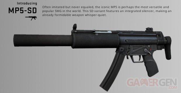 CSGO MP5 nouvelle arme