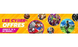 Cyber Offres promotions reduction nintendo eshop image