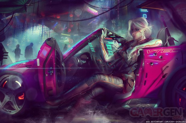 Cyberpunk 2077 Ciri fan made bis 25 06 2018