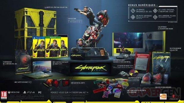 Cyberpunk 2077 collector leak