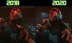 cyberpunk 2077 comparaison video entre gameplay 2018 2020
