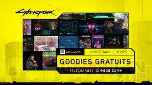 Cyberpunk 2077 goodies gratuits