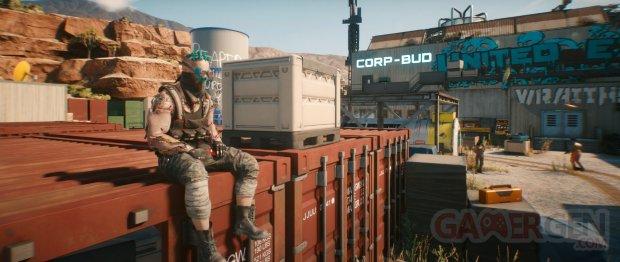 Cyberpunk 2077 head 3