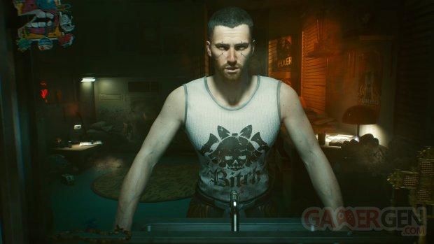 Cyberpunk 2077 head 6