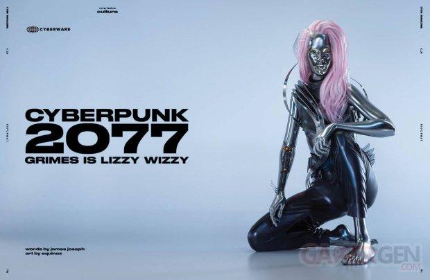 Cyberpunk 2077 Lizzy Wizzy Grimes CYBR Magazine 01 11 09 2020