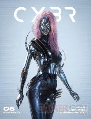 Cyberpunk 2077 Lizzy Wizzy Grimes CYBR Magazine 02 11 09 2020