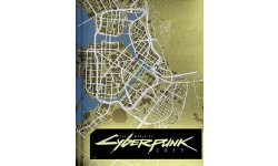 Cyberpunk 2077 Night City Ville Map Carte