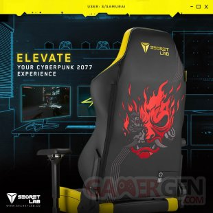 Cyberpunk 2077 Secretlab gaming chair 01 26 06 2020
