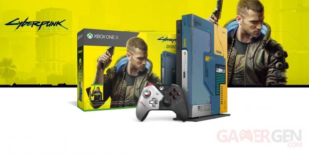 Cyberpunk 2077 Xbox One X collector pack
