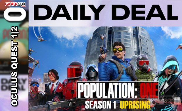 Daily Deal Oculus Quest 2021 03 27 Population One
