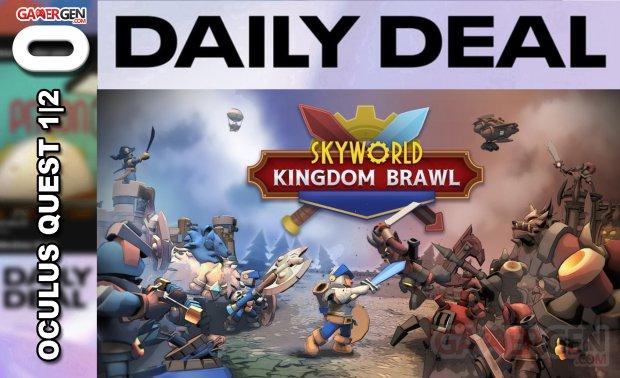 Daily Deal Oculus Quest 2021 03 30 skyworld kingdom brawl