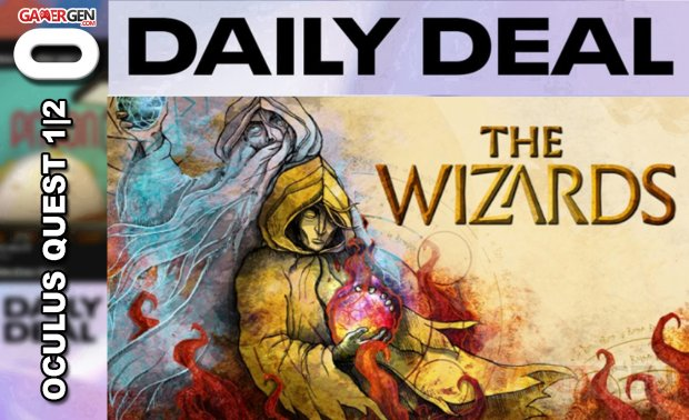 Daily Deal Oculus Quest 2021.04.06   The Wizards
