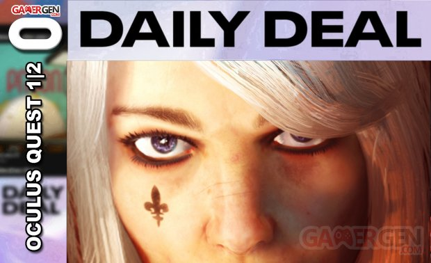 Daily Deal Oculus Quest 2021.04.10   Warhammer 40,000 Battle Sister VR