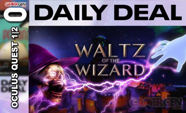 Daily Deal Oculus Quest 2021.04.11   Watz of the Wizard