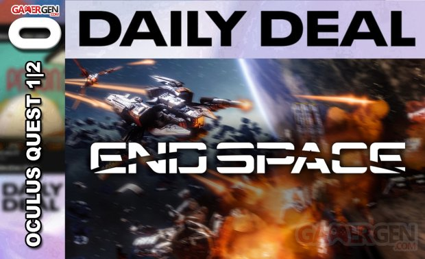 Daily Deal Oculus Quest 2021.04.13   End Space