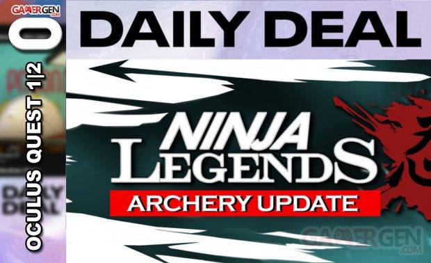 Daily Deal Oculus Quest 2021.04.15   Ninja Legends