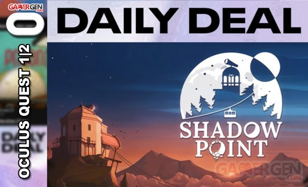 Daily Deal Oculus Quest 2021.04.17   Shadow Point