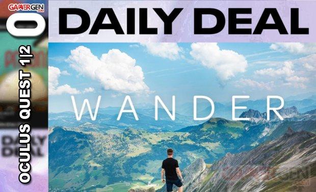 Daily Deal Oculus Quest 2021.04.23   Wander
